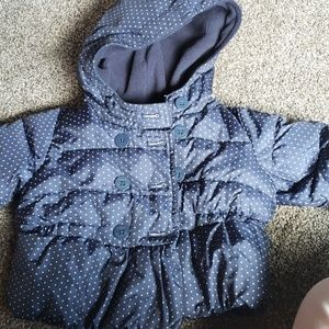 Baby Gap 6 to 12 month winter puffer coat